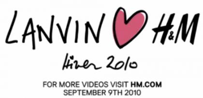 H&M e Lanvin: svelata la prossima collaborazione