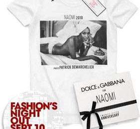 Naomi Campbell festeggia 25 anni di sfilate
