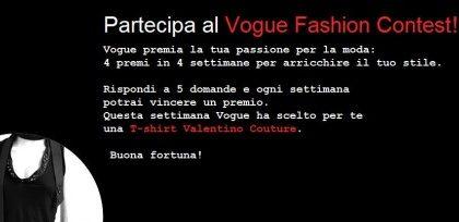 """""""Indovina e Indossa"""", il nuovo concorso di Vogue.it"""