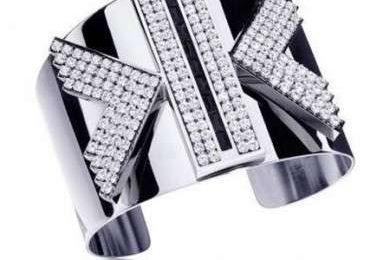 Swarovski gioielli disegnati da Karl Lagerfeld