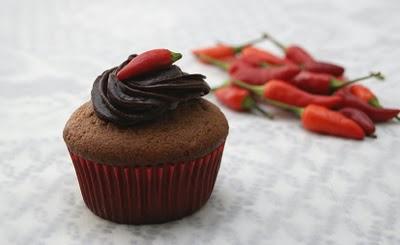 Ricette dolci: muffin cioccolato e peperoncino