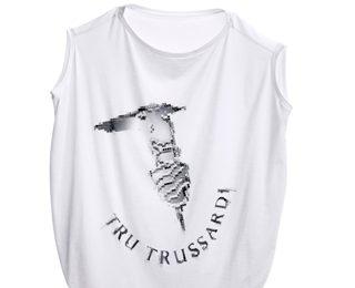 Trussardi abbigliamento: limited edition in Swarovski