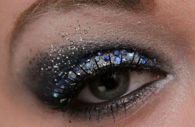 Look di Capodanno: make up glitterato