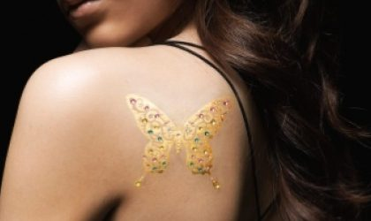 Tatuaggi preziosi in oro e platino