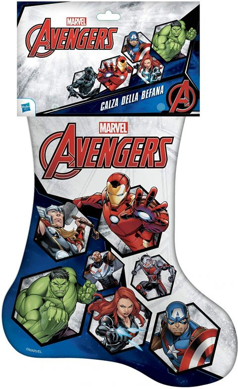 Calza della Befana degli Avengers