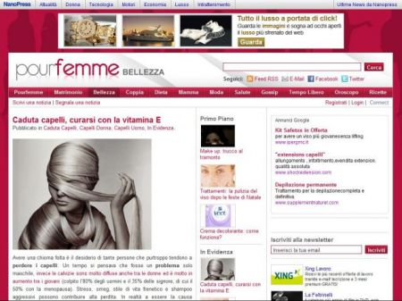 Facebook: Pour Femme a quota 7000 fan
