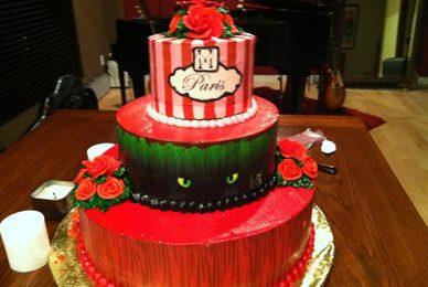 Paris Hilton: un Robin Hood moderno le ruba la torta di compleanno