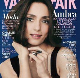 Ambra Angiolini parla del presunto tradimento su Vanity Fair