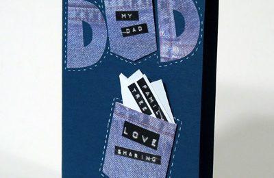 Festa del papà 2011: bigliettino di auguri fai da te