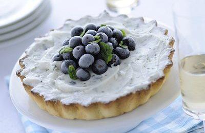 Ricette dolci: crostata con yogurt e mirtilli