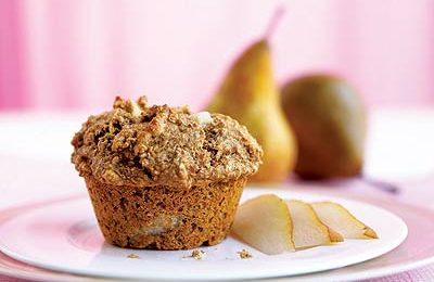 Ricette per bambini: muffin alle pere