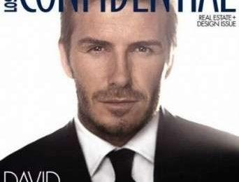David Beckham si racconta su L.A. Confidential
