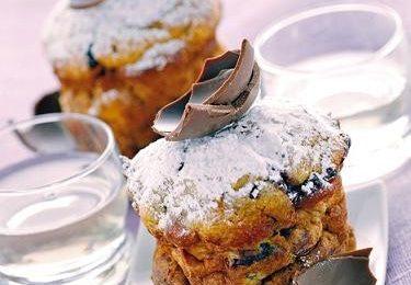 Ricette per bambini: frittelle di colomba e cioccolato