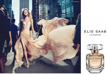 Profumi: Anja Rubik è testimonial della fragranza di Elie Saab