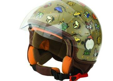 Braccialini: il casco per moto dal fascino bambinesco