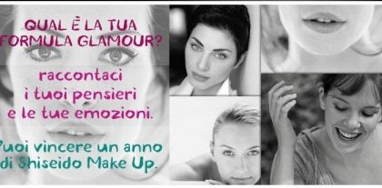 Shiseido Formula Glamour: gioca e vinci un set make up per un anno