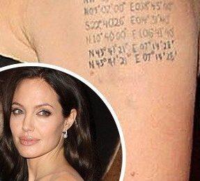 Angelina Jolie: il settimo tatuaggio è per Brad