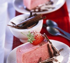 Ricette estive: bavarese alle fragole