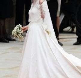 Abito da sposa di Kate Middleton: le foto e i particolari