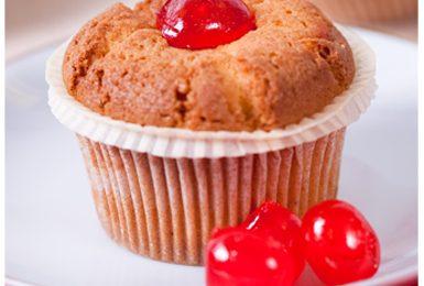 Ricette per bambini: muffin alle ciliegie