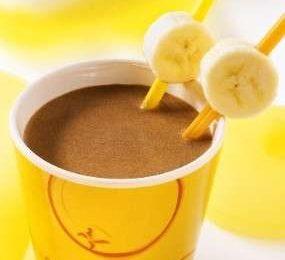 Ricette estive: frappè di cioccolato e banane