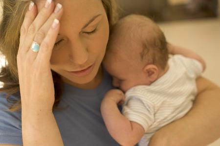 Mamme più a rischio di depressione post partum dopo un cesareo