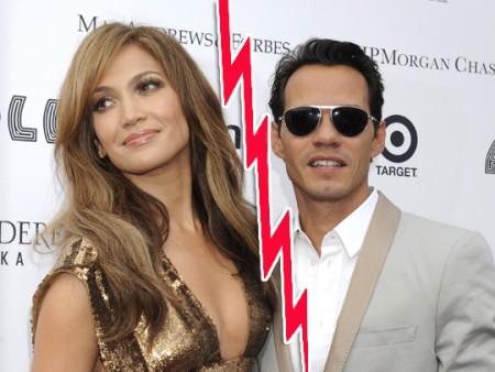 Anche loro gettano la spugna: Jennifer Lopez e Marc Anthony verso il divorzio