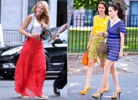 Ecco le prime foto delle protagoniste di Gossip Girl nella quinta serie: da copiare!