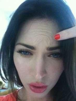 Megan Fox mostra le rughe, niente botox per l'attrice