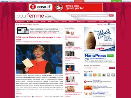 Pour Femme raggiunge i 12000 fan su Facebook: grazie a tutte voi!