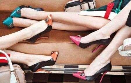 Le scarpe Prada per l'inverno 2012 tra vintage e modernità