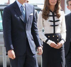Kate Middleton veste (ancora) Alexander McQueen per una visita ufficiale