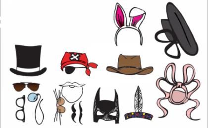 Cappellini all'inglese portati con ironia, idee geniali per feste e compleanni