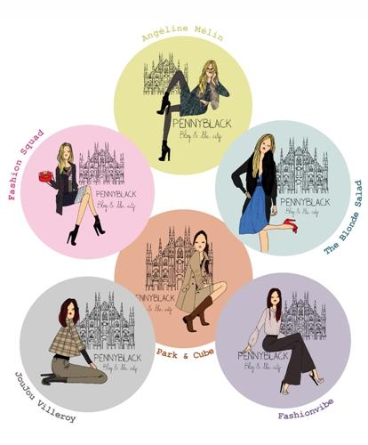 Pennyblack ti invita a conoscere le blogger di Web & The City alla Vogue Fashion's Night Out di Milano