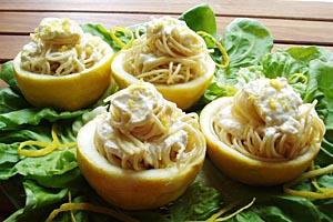 La ricetta per fare gli spaghetti al limone