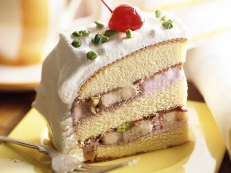 Torta in freezer