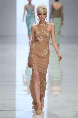 La sfilata per la primavera-estate 2012 di Ermanno Scervino a Milano Moda Donna