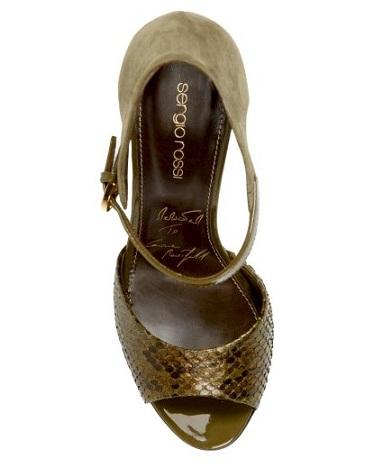 Sergio Rossi dedica a Carine Roitfeld un paio di sandali favolosi!