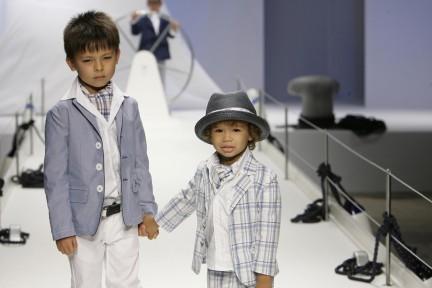 Milano Moda Donna e Vogue Bambini per il progetto di beneficenza Children in Crisis