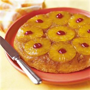 Torta rovesciata all'ananas, facile e golosissima