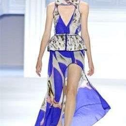 La collezione primavera estate 2012 di Vera Wang alla New York Fashion Week