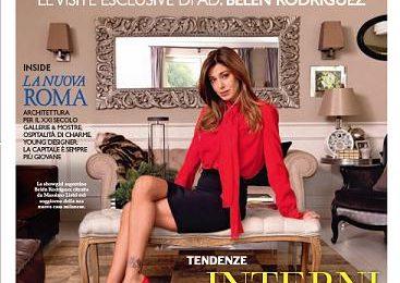 Belen Rodriguez in versione casalinga disperata… ma non troppo!
