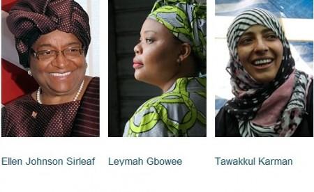 Nobel per la Pace va a tre donne che hanno fatto la storia