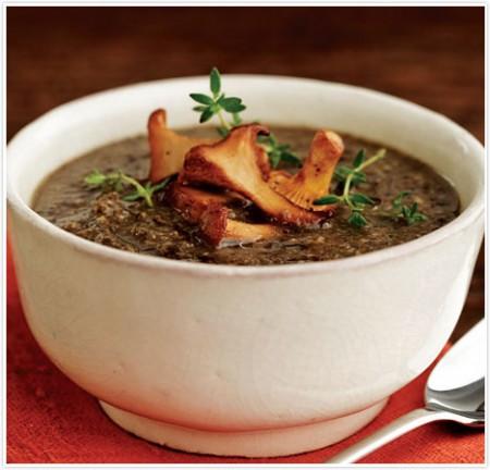 Zuppa piccante funghi