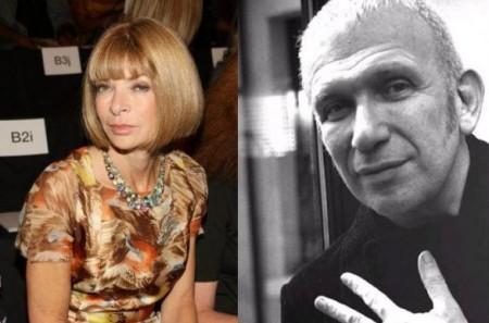 Jean Paul Gaultier critica ferocemente la signora della moda Anna Wintour
