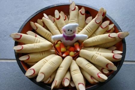 Dolci di Halloween, le dita della strega