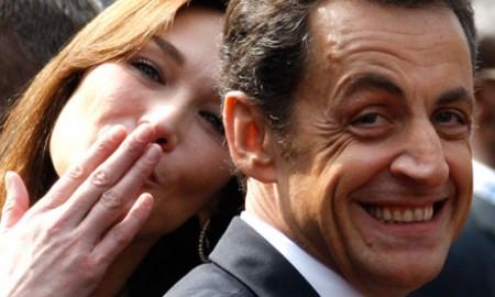 E' arrivata Dalia, la figlia di Carla Bruni e Nicolas Sarkozy