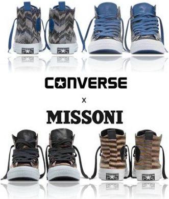 Missoni per Converse, quando lo sport incontra la moda!