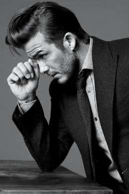 David Beckham inizia ad avere i capelli grigi, tutta colpa di Harper Seven!