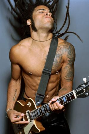 Lenny Kravitz pazzo per le donne curvy!!